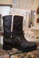 Fully lined Biker boot by Nine West available in the Shoe boutique $179.99